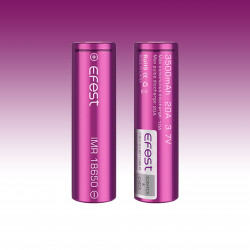 Accus EFEST IMR 18650 Purple 3000mAh 35A